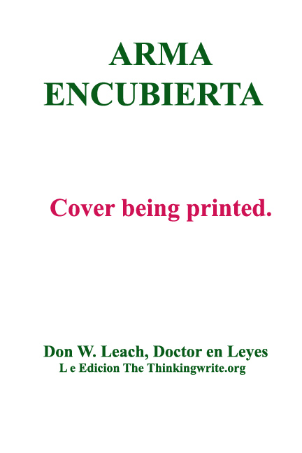 Arma Encubierta TEMP COVER